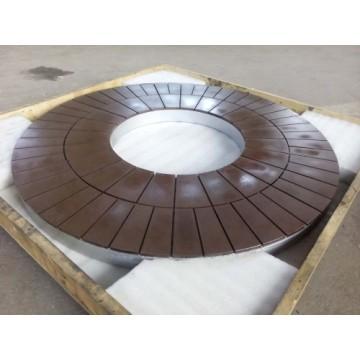 Pump valve parts surface grinding wheel