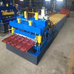 Color steel tile forming machine sheet