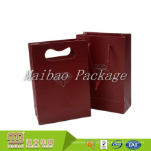 Bolsas de regalo de boda indio de papel reciclado pequeña personalizado de encargo bueno de la artesanía