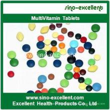 Мультивитаминный планшет с иммунитетом и анти-утомляемостью