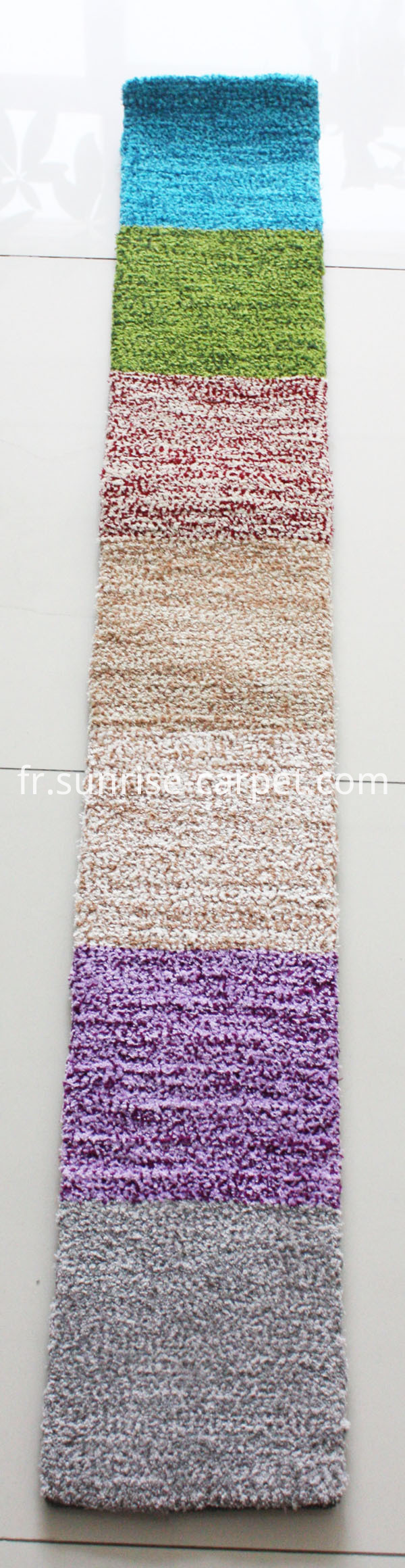 Microfiber Carpet with short pile color reference