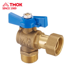TMOK wholesale best selling cw617n butterfly handle brass ball valve with good price
