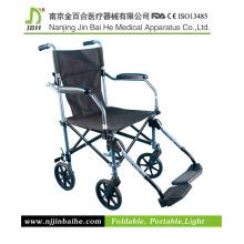 Silla de ruedas manual de alta calidad para parálisis cerebral