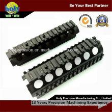 CNC-Bearbeitungs-Fotozubehör CNC-Aluminiumgehäuse mit schwarz eloxiertem