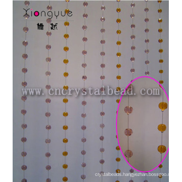 2015 Christmas Decorative Hanging Roundelle Crystal Bead Chains Curtain