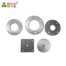 Guangzhou factory hot selling stainless steel bottom plate ss304 201 column bottom flange