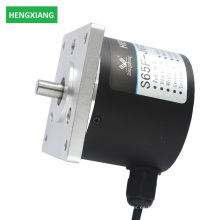 Codificador sólido del eje de 65m m que empaquea codificador sincrónico incremental del paso del motor