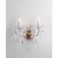 Классические хрустальные настенные лампы для спальни в европейском стиле
