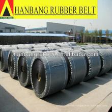 Rubber chevron conveyor belt EP500/5PLY5+2