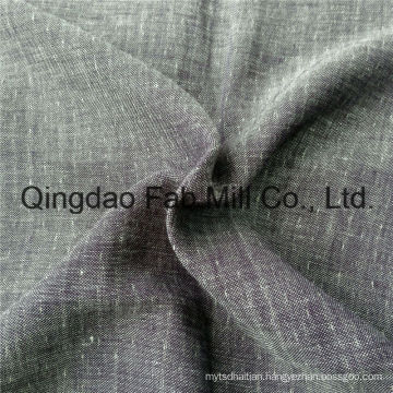 Jacquard Linen/Wool Double Layer Fabric (QF16-2477)