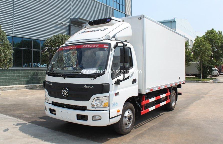 milk cooling transport truck