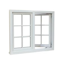 PVC casement window in USA window grills style PVCcasement window in japanese window grills style
