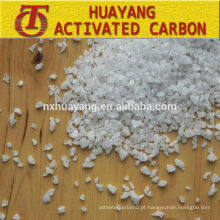 Alumina fundida branca abrasiva de 36 mesh (WFA) para jateamento de areia