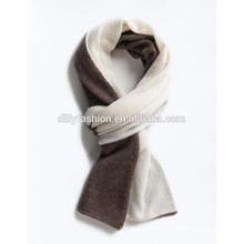 Fashion knitted cashmere scarf mens double side color shawl winter scarves