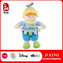 O bebê macio personalizado da menina do menino brinca bonecas enchidas do luxuoso