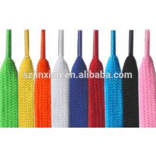 Weave Design Shoe Lace, cadarço de algodão, cadarço oco