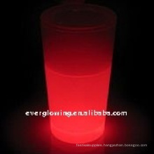 glowing glass cup