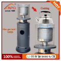 SASO ocarina gas heaters, gas outdoor heaters, indoor gas heater