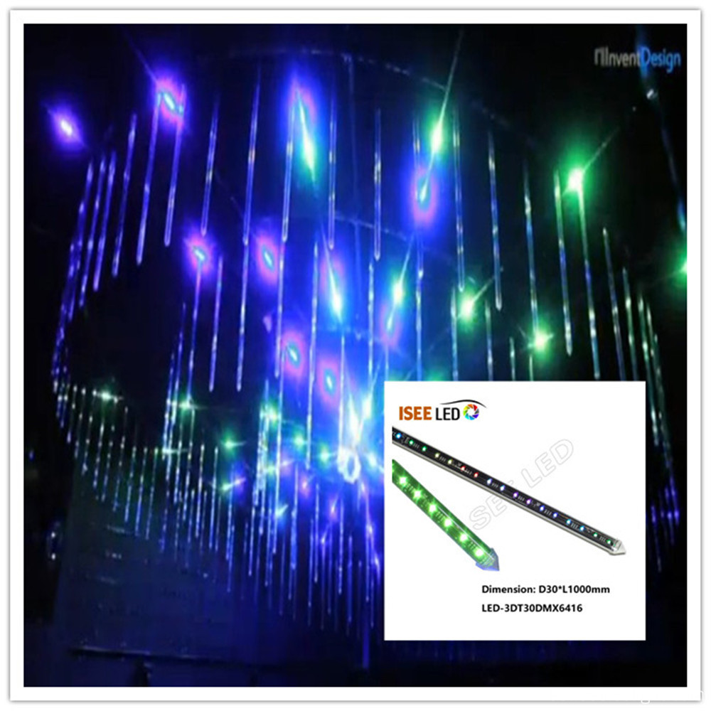 SPI video 3D LED tubo disco luz