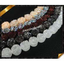 Round Gemstone Druzy, Wholesale Fashion Jewelry with Druzy Bead (YAD029)