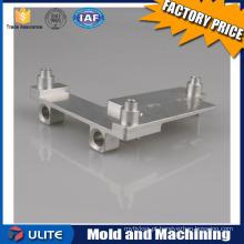 Processo de peças de liga de alumínio personalizado, peças metálicas de precisão Fábrica de processamento CNC