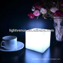 Lumière d'ambiance carrée multi couleur LED