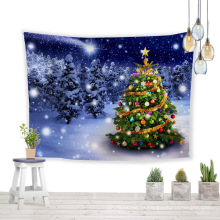 As árvores de natal desejam a melhor tapeçaria de parede