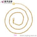 42283-Xuping Hot jóias simples cadeia de imitação de ouro colar