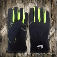Synthetic Leather Glove-Working Glove-Safety Gloves-Labor Glove-Protective Glove