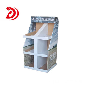 Pet Food paper display stands