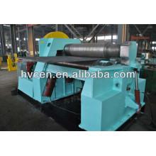 Machine à rouler 4 plaques à rouleaux w12-50 * 2500 / plaque de tôle d'acier colorée formant machine / machine à laminer plaque nc