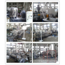 low price caco3 compounding pellet extruder
