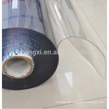 super klares transparentes PVC-Blatt