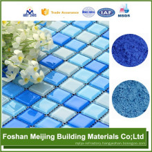 good quality pigment swimming pool mosaic top factory