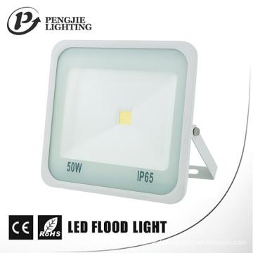 Luz de inundação branca alta do diodo emissor de luz da ESPIGA do refletor do lúmen 50-80lm / W de 50W