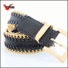 Factory Made Metal Women Wide Casual Belts