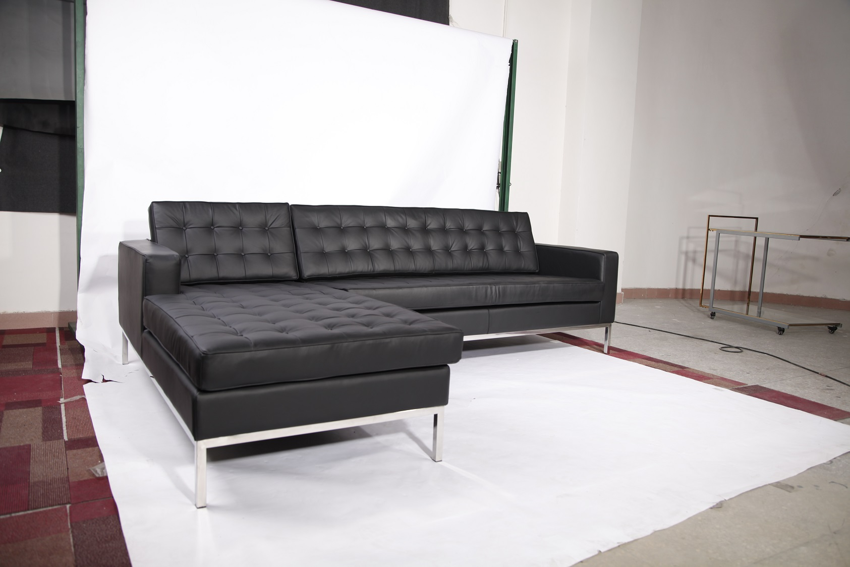 Florence knoll sectional sofa