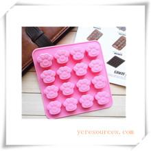 16 Cavity Oval Silikonform für Seife, Kuchen, Cupcake, Brownieand Mehr (HA36012)