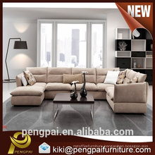 Commercial wooden Living room modern fabric sofas furniture