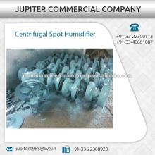 Humidificateur à point centrifuge spécialement conçu avec moteur électrique à grande vitesse