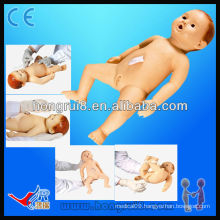 Advanced baby nursing models of care medical science dolls infant nursing simulator