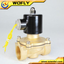 2 vias 24v dc válvula solenóide de controle de gás solenóide