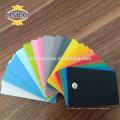 JINBAO Haute qualité plaque noire pvc feuille de forex / mousse conseil 3mm