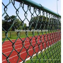 Heavy Duty lowes chain link fence preços / cerca de 5 pés de plástico revestido cerca da ligação chain