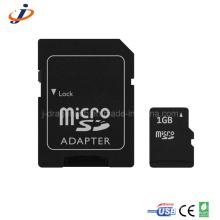 Cartão Micro SD de 1GB com adaptador