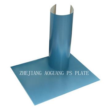 Положительная пластина PS высокого качества в голубом покрытии
