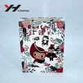 2018 Mignon Personnalisé Conception Impression Offset Logo Emballage Motif de Bande Dessinée Cadeau Papier Sac