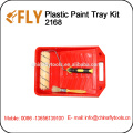 plastic paint tray kit painting roller brush