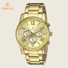 Homens De Ouro De Tom Multi-Função Relógio De Quartzo Pulseira 72511