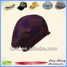 LSC37, sombrero del deporte del diseño del algodón del invierno 100%